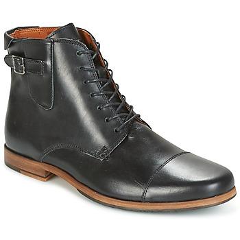 Schoenen Heren Laarzen Schmoove BLIND BRITISH BROGUE Zwart