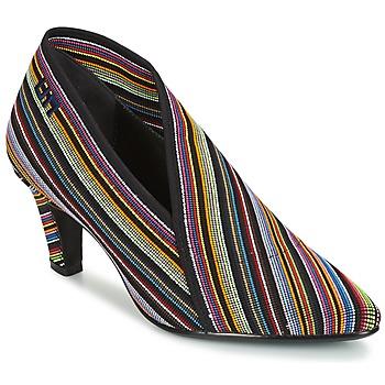 Schoenen Dames Low boots United nude FOLD LITE MID Zwart / Multicolour