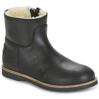 Schoenen Meisjes Laarzen Shabbies LOW STITCHDOWN LINED Zwart