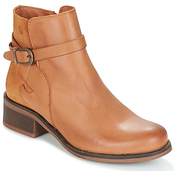 Schoenen Dames Enkellaarzen Betty London HEYLEY Camel