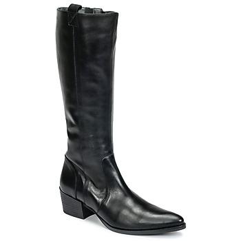 Schoenen Dames Hoge laarzen Betty London HABI Zwart
