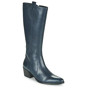 Schoenen Dames Hoge laarzen Betty London HERINE Blauw