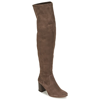 Schoenen Dames Lieslaarzen Betty London HERMO Taupe
