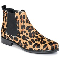 Schoenen Dames Laarzen Betty London HUGUETTE Luipaard
