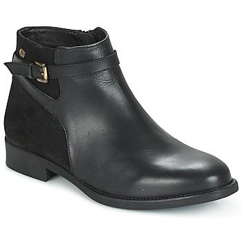 Schoenen Dames Laarzen Hush puppies CRISTY Zwart