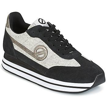 Schoenen Dames Lage sneakers No Name EDEN JOGGER Zwart / Grijs