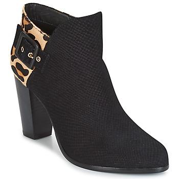 Schoenen Dames Enkellaarzen Dune London OAKLEE Zwart