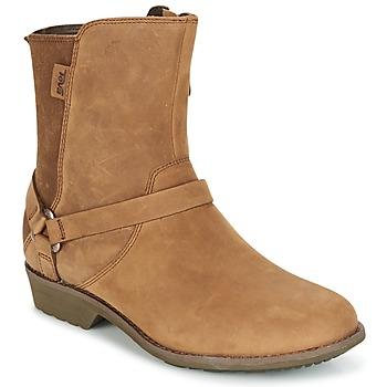 Schoenen Dames Laarzen Teva DE LA VINA DOS Bruin