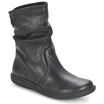 Schoenen Dames Laarzen Casual Attitude FILL Zwart