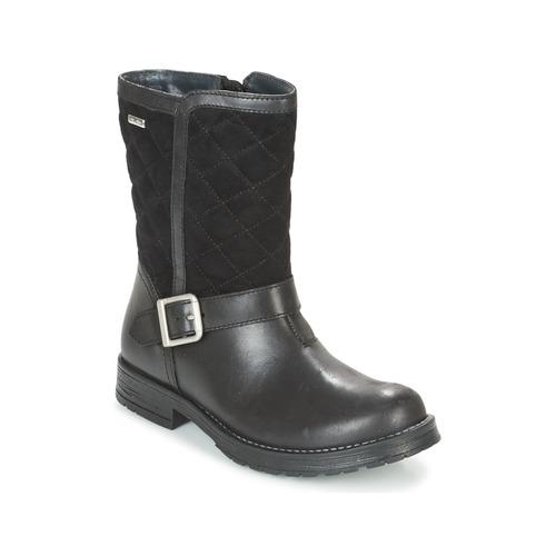 Schoenen Meisjes Hoge laarzen Start Rite AQUA JESSIE Zwart