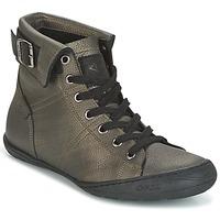 Schoenen Dames Hoge sneakers PLDM by Palladium GLADYS DST Grijs / Goud