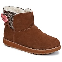Schoenen Dames Laarzen Skechers KEEPSAKES Bruin