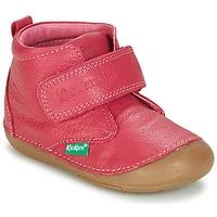 Schoenen Meisjes Laarzen Kickers SABIO Fushia