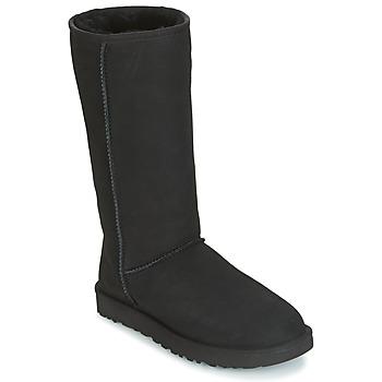 Schoenen Dames Hoge laarzen UGG CLASSIC TALL II Zwart