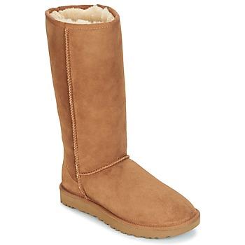 Schoenen Dames Hoge laarzen UGG CLASSIC TALL II Bruin