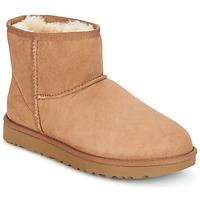 Schoenen Dames Laarzen UGG CLASSIC MINI II Camel