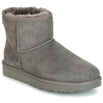 Schoenen Dames Laarzen UGG CLASSIC MINI II Grijs