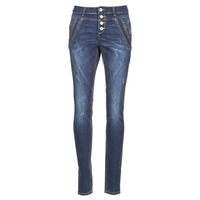 Textiel Dames Straight jeans Cream NYNNE JEANS BAILEY FIT Blauw