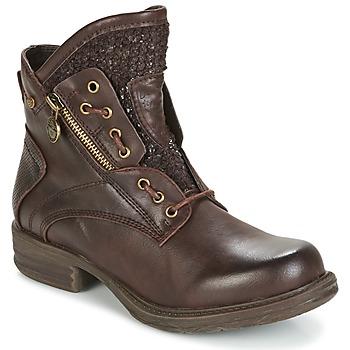 Schoenen Dames Laarzen Dockers by Gerli CORTA Bruin