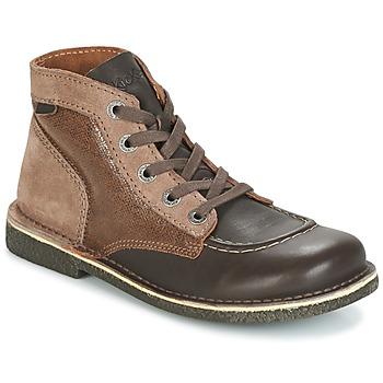 Schoenen Dames Laarzen Kickers LEGENDIKNEW Bruin / Donker