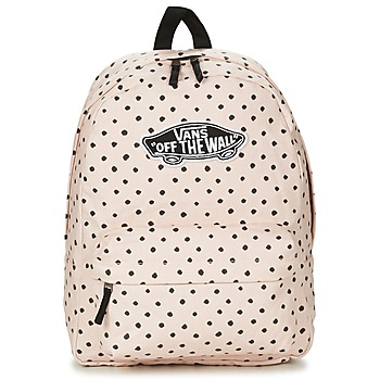 Tassen Dames Rugzakken Vans REALM BACKPACK Roze / Light