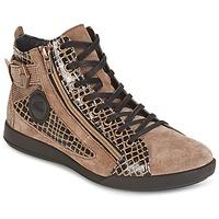Schoenen Dames Hoge sneakers Pataugas PALME Beige