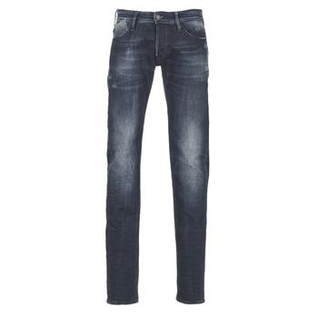 Textiel Heren Straight jeans Le Temps des Cerises 711 Blauw / Medium