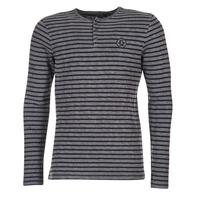 Textiel Heren T-shirts met lange mouwen Le Temps des Cerises ROGER Grijs
