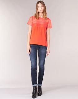 Textiel Dames Straight jeans Le Temps des Cerises PULP REGULAR Blauw / Donker