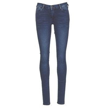 Textiel Dames Skinny Jeans Le Temps des Cerises ULTRAPOWER Blauw / Medium