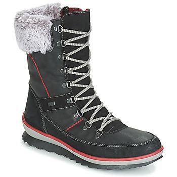 Schoenen Dames Snowboots Rieker BISKA Zwart