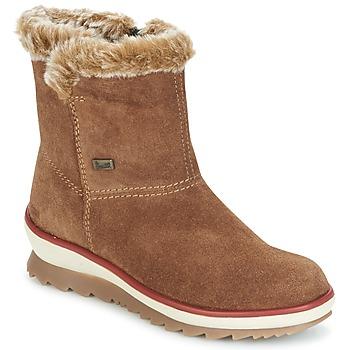 Schoenen Dames Laarzen Rieker BATIA Camel