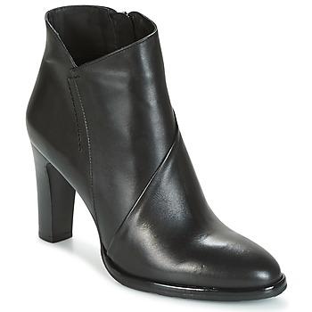 Schoenen Dames Enkellaarzen Myma POIR Zwart