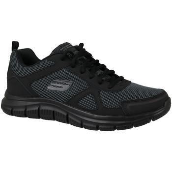 Schoenen Heren Lage sneakers Skechers Track 52630-BBK Zwart