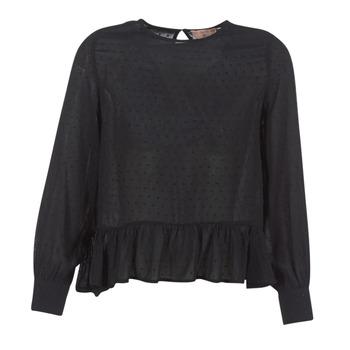 Textiel Dames Tops / Blousjes Moony Mood HARMO Zwart