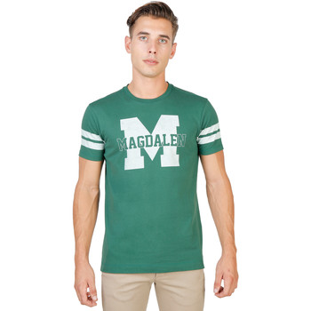 Textiel Heren T-shirts korte mouwen Oxford University T-shirt Groen