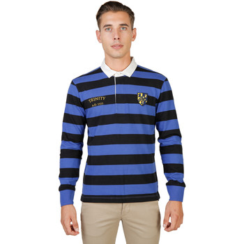 Textiel Heren Polo's lange mouwen Oxford University Polo Zwart