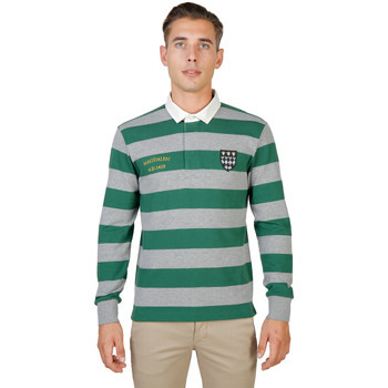 Textiel Heren Polo's lange mouwen Oxford University Polo Groen