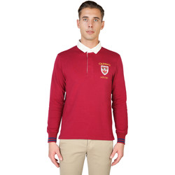 Textiel Heren Polo's lange mouwen Oxford University Polo Rood
