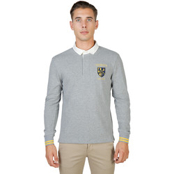 Textiel Heren Polo's lange mouwen Oxford University Polo Grijs