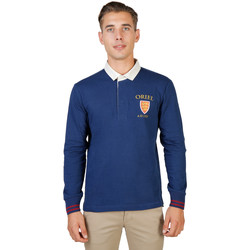 Textiel Heren Polo's lange mouwen Oxford University Polo Blauw
