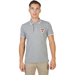 Textiel Heren Polo's korte mouwen Oxford University Polo Grijs