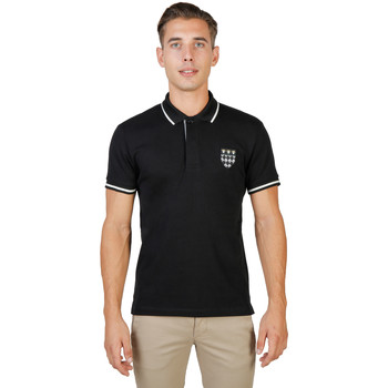 Textiel Heren Polo's korte mouwen Oxford University Polo Zwart