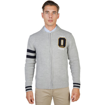 Textiel Heren Vesten / Cardigans Oxford University Sweaters Grijs