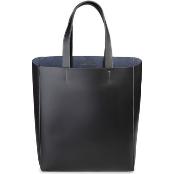 Tassen Dames Tote tassen / Boodschappentassen Made In Italia Shopper Zwart