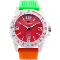 Horloges Analoge horloges No Limits Horloge Rood