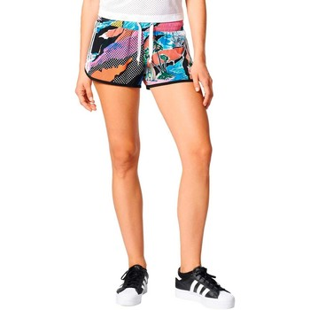 Textiel Dames Korte broeken / Bermuda's adidas Originals SHORT MULTICOLOR Multicolor