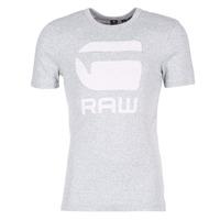 Textiel Heren T-shirts korte mouwen G-Star Raw DRILLON Grijs