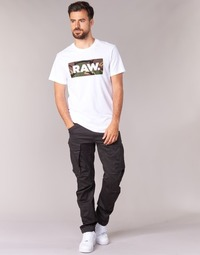 Textiel Heren Cargobroek G-Star Raw ROVIC ZIP 3D TAPERED Grijs
