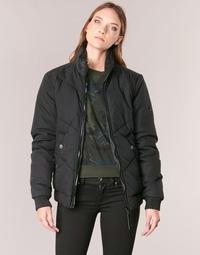 Textiel Dames Wind jackets G-Star Raw STRETT CHEVRON JKT Zwart